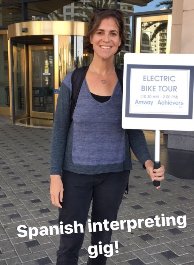 Spanish into English Interpretation of Bike Tours in San Diego